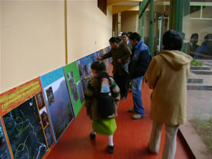 Exposition Pusharo à Cusco